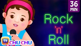 getlinkyoutube.com-Wheels On The Bus and Many More Nursery Rhymes Karaoke Songs Collection | ChuChu TV Rock 'n' Roll