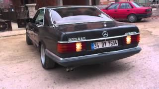 Mercedes 500 SEC--1985 Model Test Sürüşü HD 720