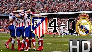 getlinkyoutube.com-Atletico Madrid vs Real Madrid 4-0 All Goals and Highlights | 07-02-2015 HD