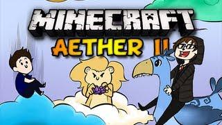 Minecraft Aether II - Ep. 3 w/ Chim, Double, & Clash  - ZEPHYROOS! (HD)