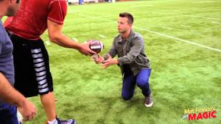 Mat Franco does magic for Gronk