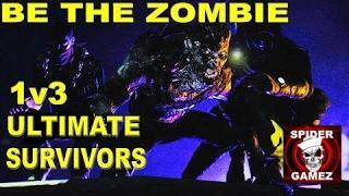 getlinkyoutube.com-Dying Light - Be The Zombie - 1v3 Ultimate Survivors VS Walker Rank Night Hunter