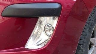 getlinkyoutube.com-How to change fog lamp bulbs on Peugeot 308