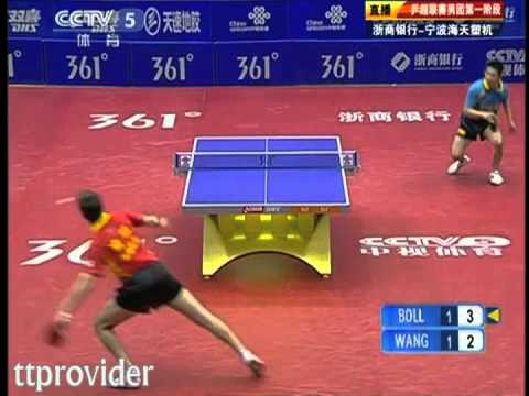 Chinese Superleague 2011: Timo Boll-Wang Jianjun