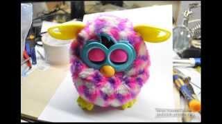 getlinkyoutube.com-Самостоятельный ремонт Furby Boom, разборка, ремонт или замена двигателя