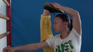 getlinkyoutube.com-WUSHU TUTORIAL: Standing Split