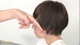 getlinkyoutube.com-hairstudyヘアスタディ クセを活かした今風マッシュショート