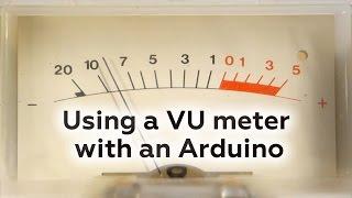 getlinkyoutube.com-Using a VU meter with an Arduino
