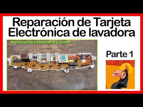 Reparación de Tarjeta Electrónica de lavadora Samsung 1era. parte