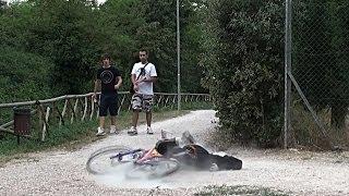 getlinkyoutube.com-Fake Bike Accident Prank