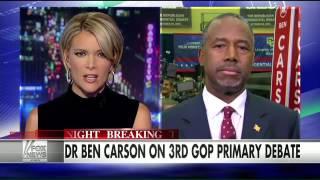getlinkyoutube.com-Ben Carson: Debate audience picked up on media bias