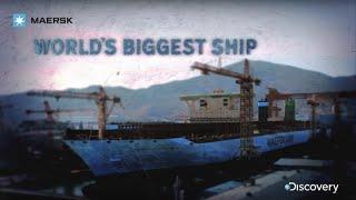 getlinkyoutube.com-Maersk - World's Biggest Ship - Discovery Channel
