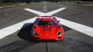getlinkyoutube.com-Faster Than a Bugatti Veyron? Koenigsegg Agera R - CAR and DRIVER