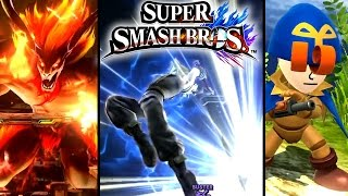 getlinkyoutube.com-Super Smash Bros ALL NEW FEATURES - Cloud, Midgar Stage, Geno Costume & More (Wii U)