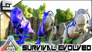 ARK: Survival Evolved - MATURE BABY TREX! S2E44 ( Gameplay )