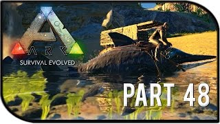 "getlinkyoutube.com-ARK: Survival Evolved Gameplay Part 48 - ""Riding our Ichthyosaur!"""