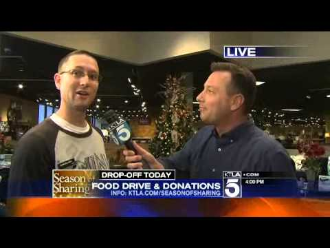 Season of Sharing Jerome's Furniture & KTLA