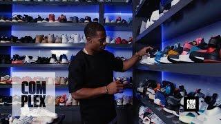 getlinkyoutube.com-Complex Closets: Victor Cruz Shows Us His Crazy Sneaker Collection