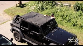 getlinkyoutube.com-DIY Mesh Shade Screen Top for your Wrangler