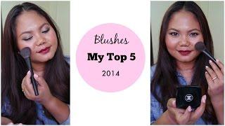 getlinkyoutube.com-5 บลัชออนที่ชอบที่สุดแห่งปี My Top 5 Blushes of 2014 | MaiRuuDee