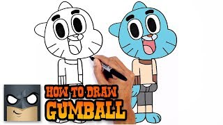 getlinkyoutube.com-How to Draw Gumball- Step by Step Video Tutorial