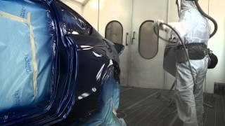 getlinkyoutube.com-Spraying clear coat