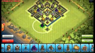 getlinkyoutube.com-Clash of Clans - New update 2 Air sweeper Best TH10 Farming Base and Trophy base