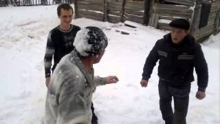 getlinkyoutube.com-Реальная Драка Fight Деревенские боевики!
