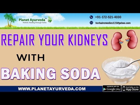 Repair Your Kidneys With Baking Soda
