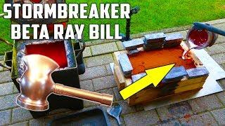 Casting Stormbreaker Hammer in Aluminium from Beta Ray Bill ( Marvel Comics) width=