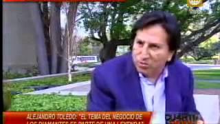 [ENTREVISTA] Alejandro Toledo habla desde la Universidad de Stanford