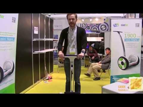 MK PROKAT презентация NineBot на CES