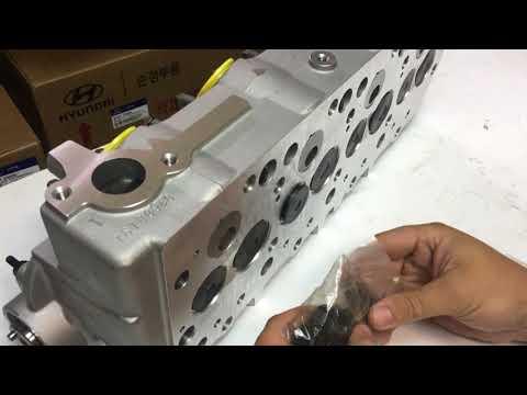 ГБЦ D4BH 2.5 в сборе Hyundai Terracan, Starex, Porter 2, Kia Bongo 22000-42A20