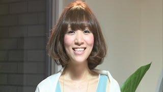 getlinkyoutube.com-【ヘアアレンジ】ボブベース巻き髪アレンジ♪ショートヘアにピッタリ!