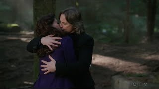 OUAT - 4x18 'Will is just such a better kisser than you are' [Rumple, Belle & Regina]