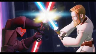 getlinkyoutube.com-Disney Infinity 3.0 - The Movie (Twilight of the Republic Playset) - All Cutscenes & Bosses
