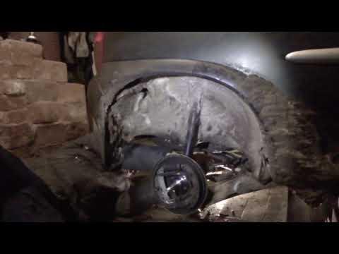 Opel Corsa B Замена задней ступицы и подшипников, их регулировка