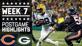 getlinkyoutube.com-Bears vs. Packers (Week 7) | Game Highlights | NFL