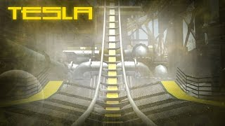 RCT3 - Tesla (Vertical Drop Coaster)
