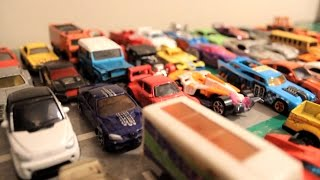 getlinkyoutube.com-HOT WHEELS ANIMATION Action TOYS Race CARS - Stop Motion