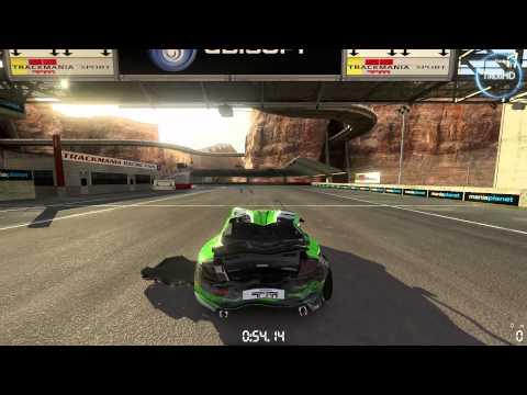 Trackmania 2 - Canyon HD gameplay