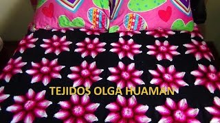 getlinkyoutube.com-colcha a crochet estrella en relieves video 1