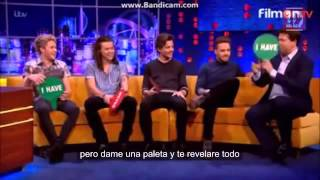 getlinkyoutube.com-One Direction play Never Have I Ever on the Jonathan Ross Show Sub
