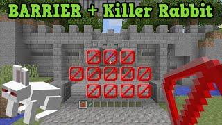 getlinkyoutube.com-Minecraft Xbox 360 / One Hidden Features - Barrier Block & Killer Rabbit