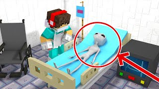 getlinkyoutube.com-Minecraft Pocket Cirurgia - ALIENÍGENA EXPLODIU NA OPERAÇÃO !! (Minecraft Pocket Edition 0.15.2)