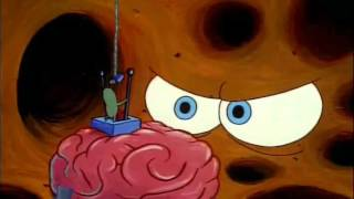 getlinkyoutube.com-SpongeBob SquarePants Clip - Get Out Of My Head! Leave My Brain Alone!