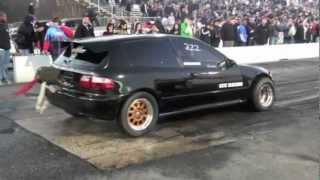 getlinkyoutube.com-Nyce1s - CCC Racing SFWD Turbo Honda Civic EG Ready For 2012 Season!!