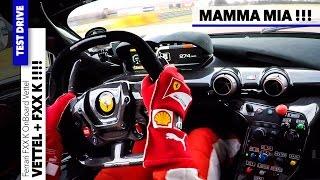 getlinkyoutube.com-FERRARI FXX K Grip EXTREME Vettel Test Accelerations | Design