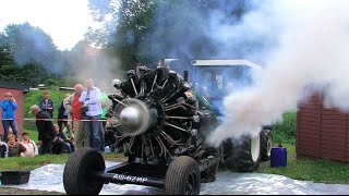 getlinkyoutube.com-Russischer Sternmotor - Russian Radial Engine Start and Run
