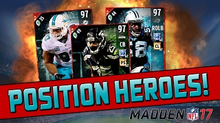 getlinkyoutube.com-All Defensive Position Heroes! | Madden 17 Ultimate Team - How To Make Coins